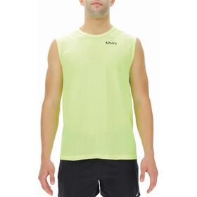 UYN Airstream Sleeveless Running Shirt Men, amarillo